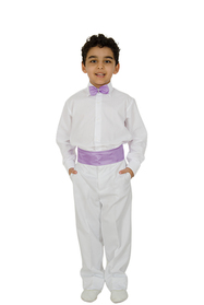 Erkek Lila Dans Kostümü