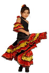İspanyol Kız Kostümü