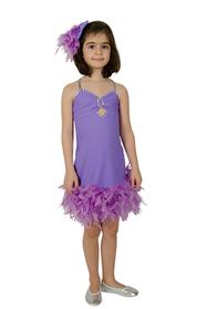 Lila Dans Kostümü