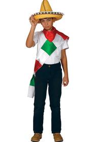Meksika Erkek Kostümü