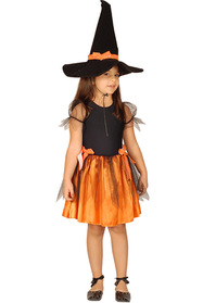 Oranj Cadı Kostümü