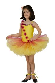 Sarı Dans Kostümü