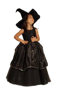 Siyah Cadı Kostümü