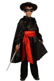 Zorro Kostümü Saten